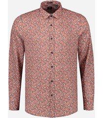 dstrezzed shirt l/s linen flower 303304/434