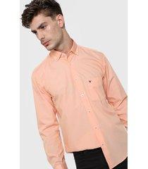 camisa naranja gio renzi