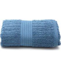 toalha de rosto buddemeyer fio penteado 48x85 azul - kanui