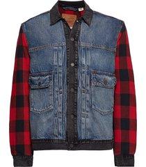 type 2 hybrid trucker woodsman jeansjack denimjack blauw levi´s men