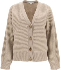 stella mccartney forever cardigan in cashmere and wool