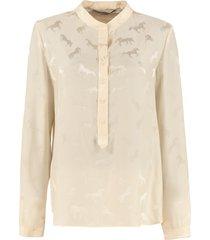 stella mccartney eva jacquard shirt