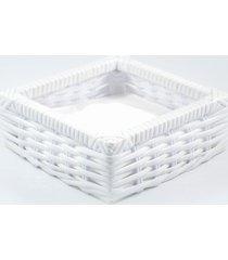 porta guardanapo tradicional fibra sintã©tica  - branco - branco - dafiti