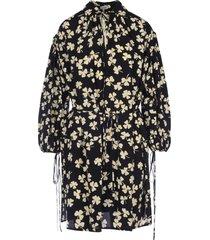loewe shamrock print peasant dress