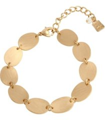 robert lee morris soho disc link bracelet