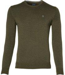 nils pullover - extra lang - groen