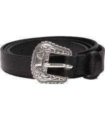 cinturon b texy belt negro diesel