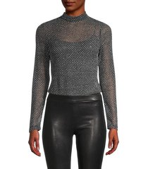 nico fishnet bodysuit