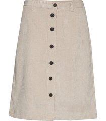 sc-bindi knälång kjol beige soyaconcept
