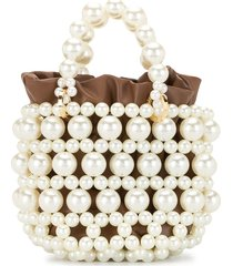 0711 esmeralda large bucket bag - brown