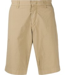 fay fitted chino shorts - neutrals