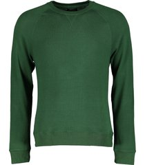 dstrezzed sweater - slim fit - groen