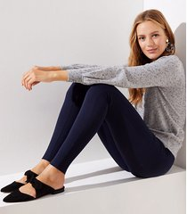 loft tall leggings in ponte