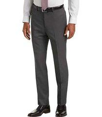 calvin klein men's gray pindot slim fit suit separates pants - size: 40
