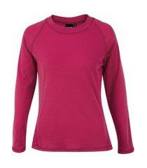 camisa segunda pele manga longa nord outdoor under basic - feminina