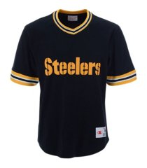 mitchell & ness men's pittsburgh steelers huddle up t-shirt