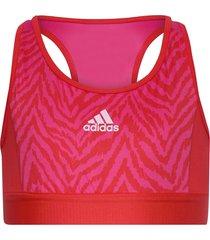 designed to move low support bra top w night & underwear underwear tops röd adidas performance