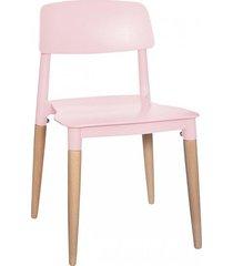 krzesło dla dzieci dziecięce snow różowe