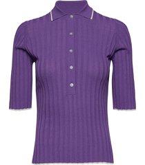 ella t-shirts & tops short-sleeved paars dagmar