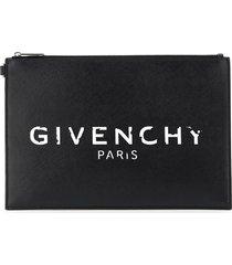 givenchy logo print pouch