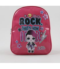 mochila infantil lol surprise pink