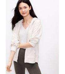 loft lou & grey summersoft zip hoodie