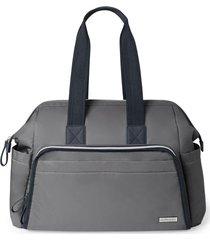 bolsa maternidade (diaper bag) mainframe satchel  -  slate skip hop - kanui