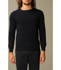 eleventy sweater eleventy platinum pullover with round neck in wool