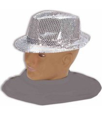 buy seasons men's silver fedora accessory