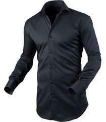 circle of gentlemen heren overhemd addie cutaway slim fit