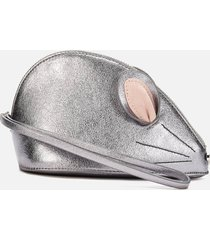ted baker women's squeak clutch - silver