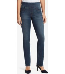 bandolino women's theadora straight pull on jeans