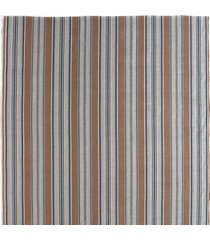 driftwood jeans dash & albert rug co blue heron stripes woven rug, large
