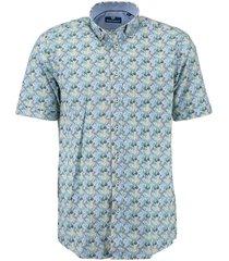 overhemd shirt ss groen