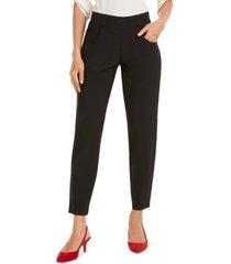 hue travel skimmer side-zip-pocket leggings