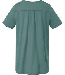 shirt van green cotton groen