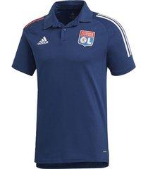 polo shirt korte mouw adidas olympique lyonnais poloshirt