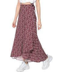 falda morado-rosa glamorous