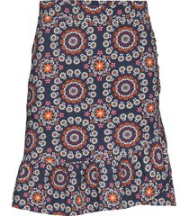 women empire skirt knälång kjol multi/mönstrad odd molly