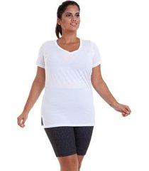 blusa dry plus size best fit feminina - feminino