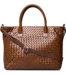 bacoli shoulder bag vilde bags top handle bags bruin adax