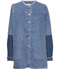 norma denim jacket jeansjacka denimjacka blå just female