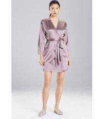 sleek sleep & lounge bath wrap robe, women's, silk, size s, josie natori