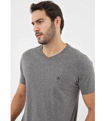 camiseta dudalina lisa cinza - kanui