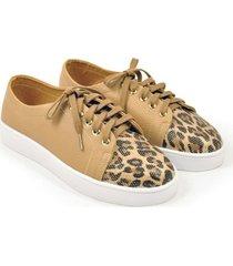 tenis animal leoparda/001371