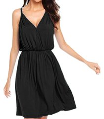 cami surplice mini dress