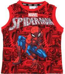 muscolosa roja magic marvel spiderman historieta sudadera