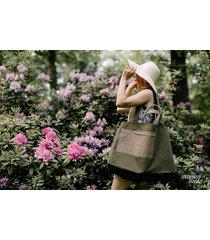 marmollada - torebka bawełniana txl zielona