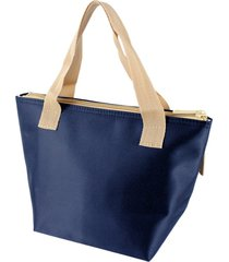 bolsa tã©rmica pequena com alã§a jacki design essencial azul marinho . - azul marinho - dafiti