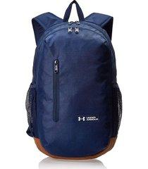 mochila azul under armour roland